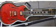 E-Gitarre Washburn HB35S weinrot