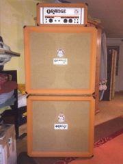 Vintage Orange Gitarrenvertärker OR120 incl