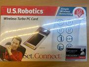 PCMCIA Netzwerkkarte U S Robotics