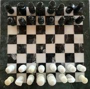 Schach aus Marmor - Brett Figuren