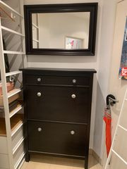 Ikea Vorzimmermöbel inklusive 3 Spiegel