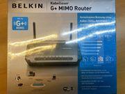 BELKIN G Mimo Router neu