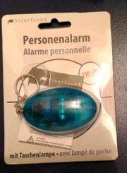 NEU Personen Alarm Notruf Taschenlampe