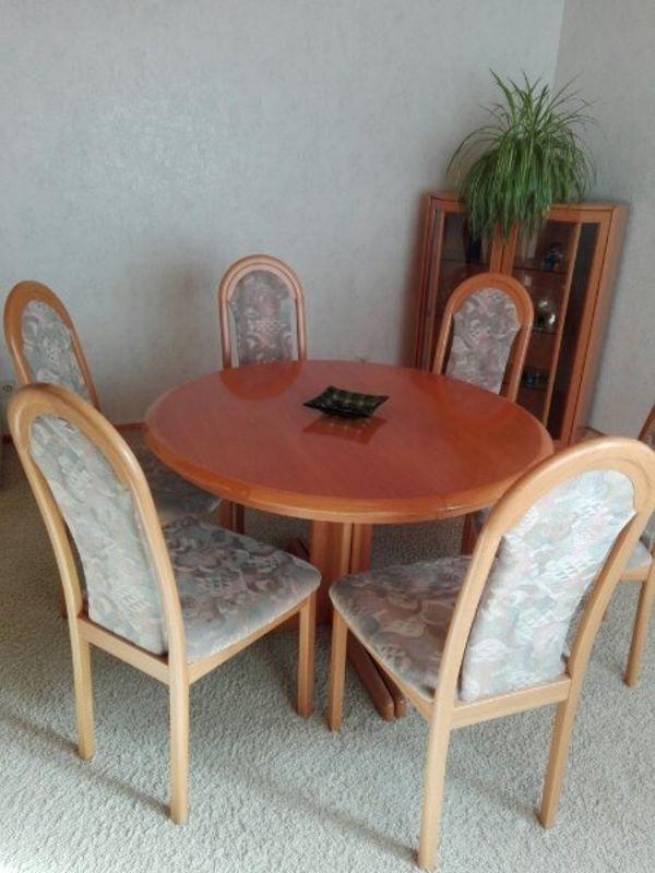 Stühlen Essgruppe 6 Speisezimmer Mit Herzogenaurach Esstisch In IWDEH29