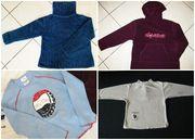 Vier Oberteile Pullis Sweatshirts Gr