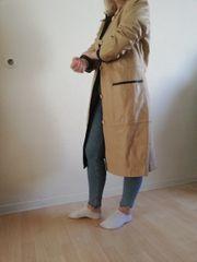 Damen Echtleder Mantel von Elegance