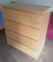 IKEA Malm Schubladen Holzfurnier