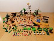PLAYMOBIL Konvolut Tiere und Pflanzen