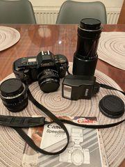 Spiegelreflexkamera mit objektiven