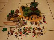 Piraten Insel Playmobil viel Zubehör