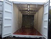 Container mit Licht Strom als