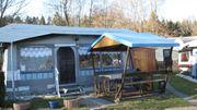 Gepflegter Wohnwagen Campingplatz 54421 Reinsfeld