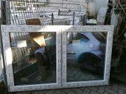 Neues zweiflügiges Fenster 195 cm