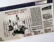 1x eventim Ticket Backstreet Boys