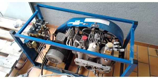 Bauer Atemluftkompressor Tauchkompressor
