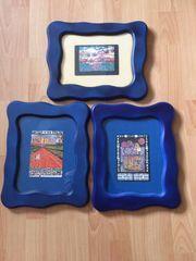 div Hundertwasser- Kunstdrucke in farbigen