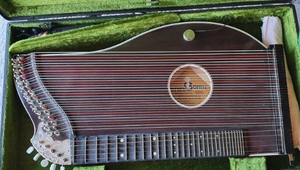 Zither Alfred Bonell