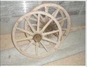 Holzspeichenräder versch Größen