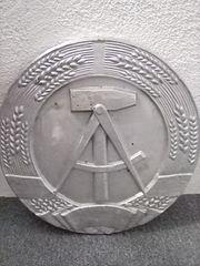 Großes Wappen der DDR 50x50cm