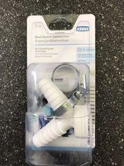 Xavax Doppelgeräteanschluss für Waschmaschine Spülmaschine