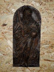 Gußplatte Kaminplatte Gründerzeit ca 1890 -