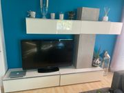 Moderne Wohnwand Kombination günstig zu