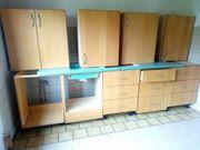 Massive Holzküche vom Schreiner