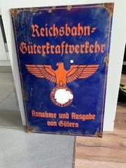 Emailschild Reichsbahn