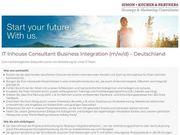 IT Inhouse Consultant Business Integration