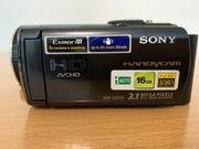 Sony Handycam HDR-CX155E Camcorder schwarz