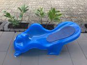 Badewannensitz blau Baby