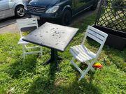 Balkonmöbel Tisch 2 Stühle Gartenmöbel