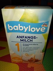 Anfangsmilch Babylove