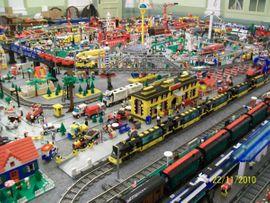 Bild 4 - LEGO EISENBAHN-ANLAGE - Hohenmölsen Jaucha