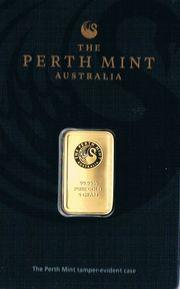 THE PERTH MINT 1 Goldbarren