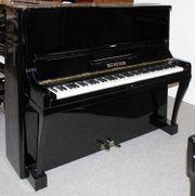 Klavier Bechstein 128 schwarz poliert
