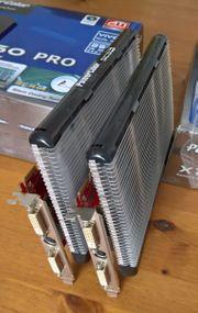 2 Grafikkarten PowerColor X1950 PRO