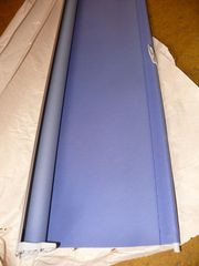 Verdunkelungsrollo Velux blau 78cm gebr