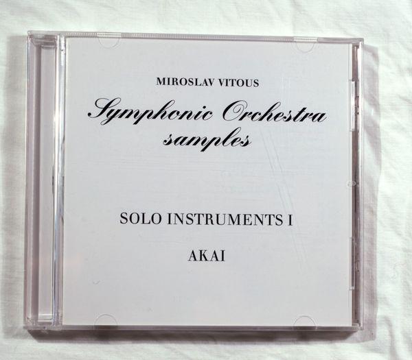 Miroslav Vitous Sample CDs