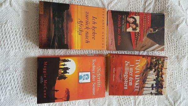 4 Afrika - Schicksalsromane