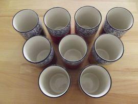 Geschirr und Besteck - Trinkbecher Keramik