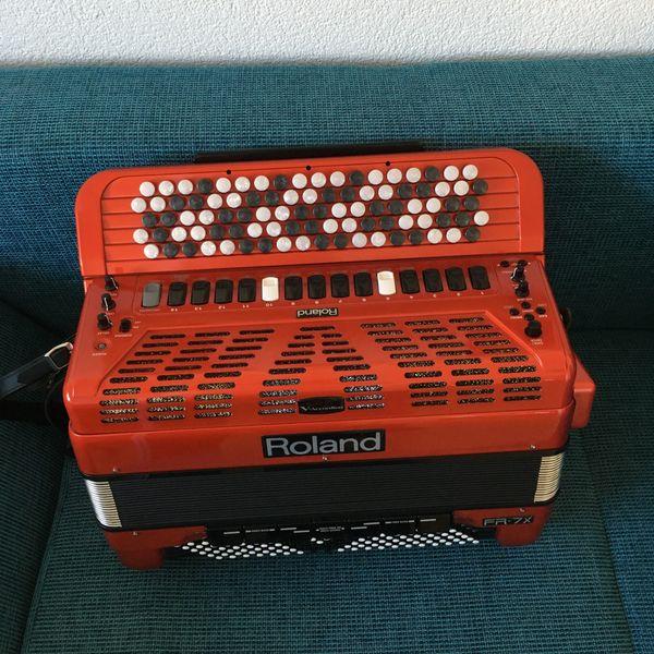 Roland FR-7- Tastenakkordeon