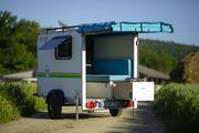 Wohnwagen- kompakte Mini-Wohnwagen-autark-Vermietung Verkauf