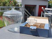 Bowlenset aus Glas