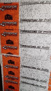 Styroporplatten