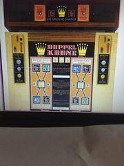 Suche den Geldspielautomaten Doppelkrone Bj1967