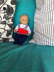 Alte Zapf Puppe mit Kleider