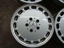Alufelgen - Original Mercedes W124 Gullydeckel Alufelgen