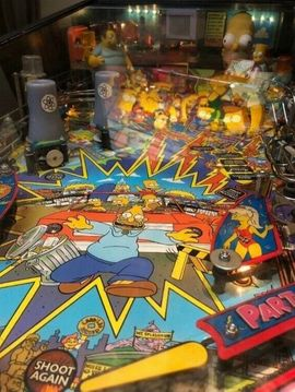Sonstige Konsolen & Spiele - The Simpsons Pinball Party Pinball