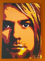 Kurt Cobain Gemälde